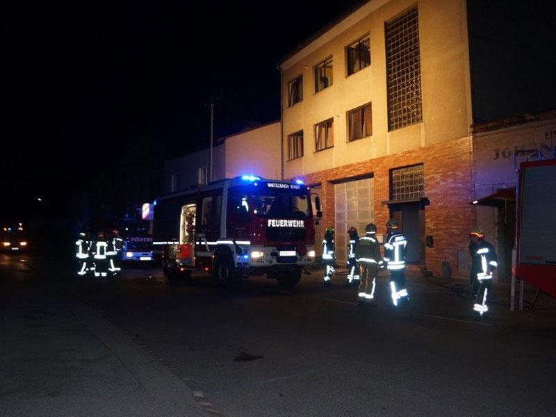 Brand Asylunterkunft