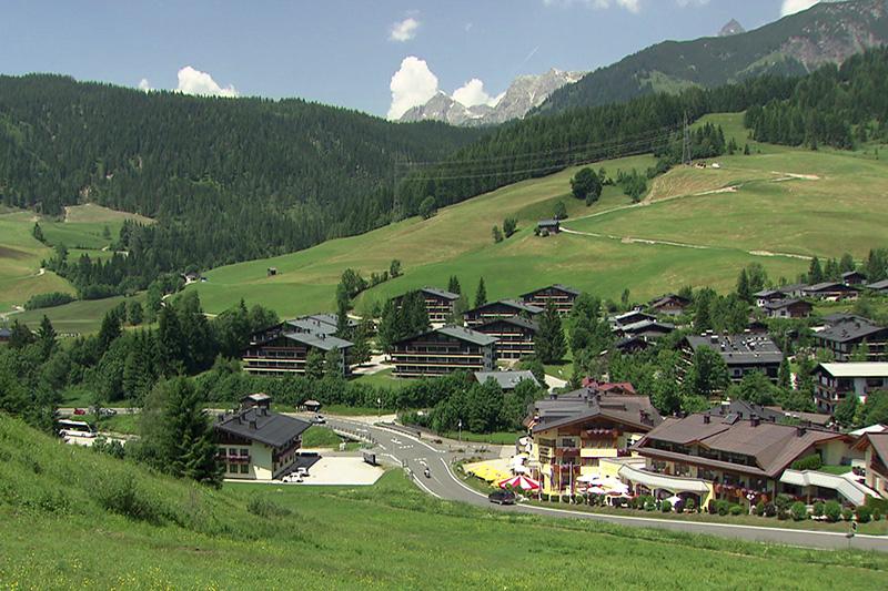 Der Ortsteil Hinterthal in Maria Alm