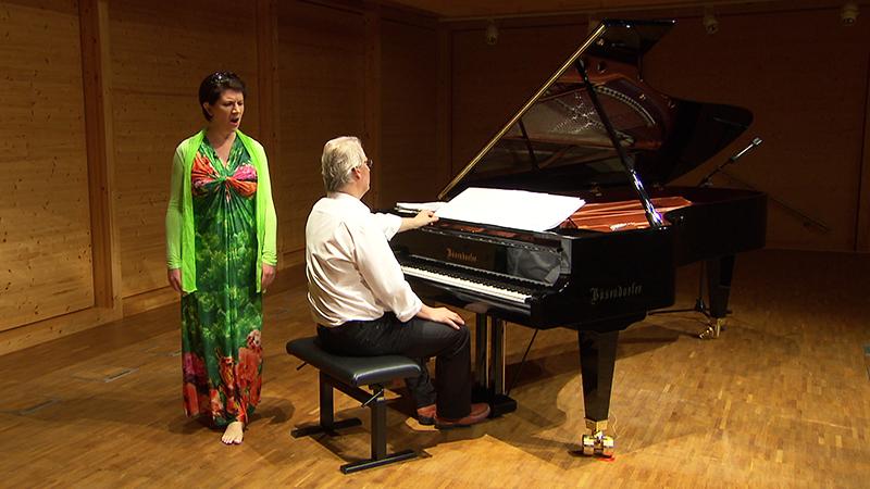 Elisabeth Kulman mit Eduard Kutrowatz