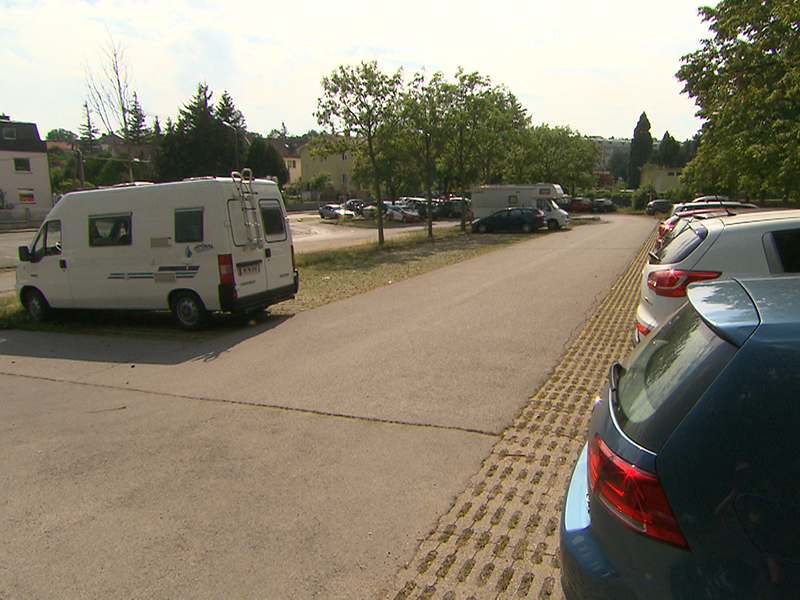 Ottakringer Bad Parkplatz
