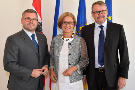 Schleritzko, Mikl-Leitner und Tok