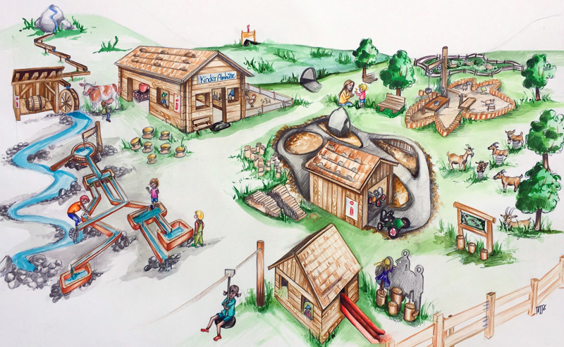 Karte Spielplatz Eng