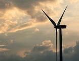 Windpark Windrad