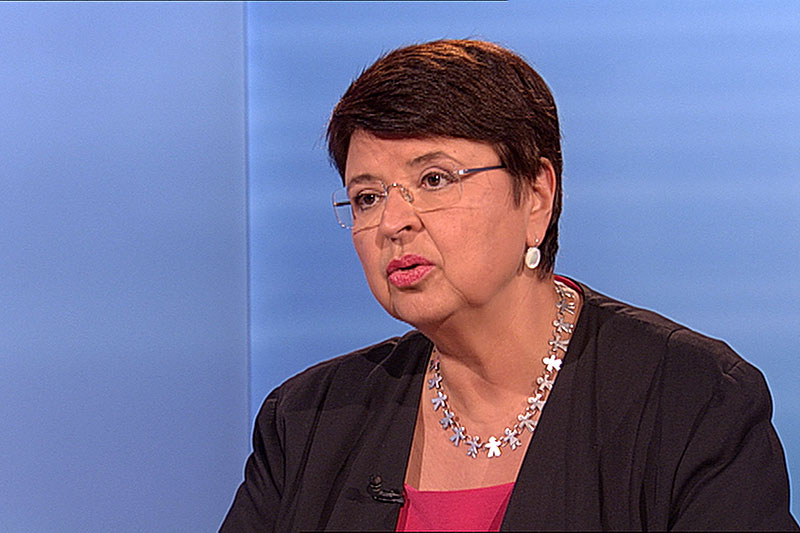 Renate Brauner SPÖ Studio