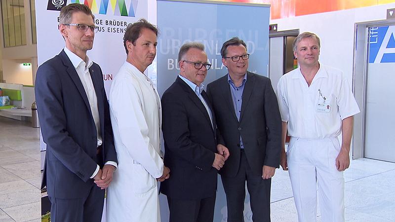 Medizinische Versorgung, Spital, Krankenhaus Eisenstadt, Operation
