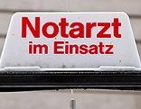 Notarzt-Schild