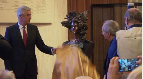 Büstenenthüllung Lucia Popp   Wiener Staatsoper
