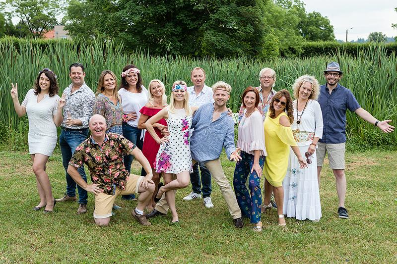 Die ORF Steiermark-Moderator/innen & -Reporter/innen sind im Sommer mit den Tanzprofis Willi & Christiana Gabalier im Land unterwegs