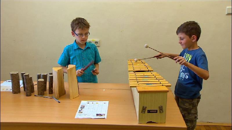 Schüler forschen mit Holz