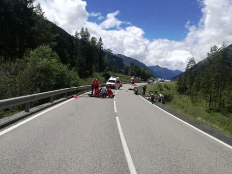 Motorradunfall Tirol