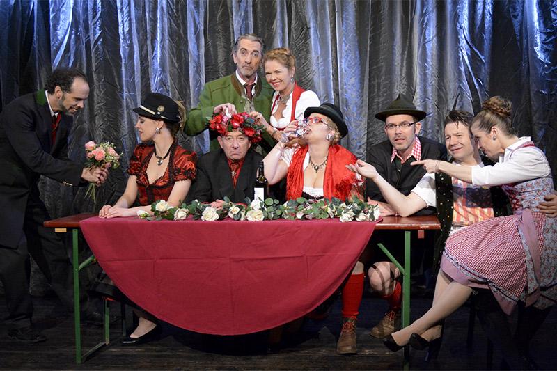 Theaterfest Weitra Rosen in Tirol Ensemble