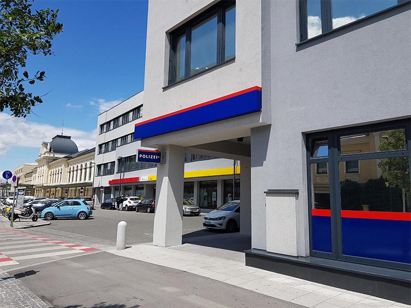 Sankt Pölten Bahnhof Polizeiinspektion