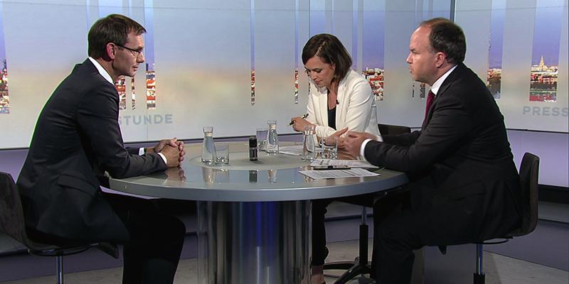 ORF Pressestunde Wallner