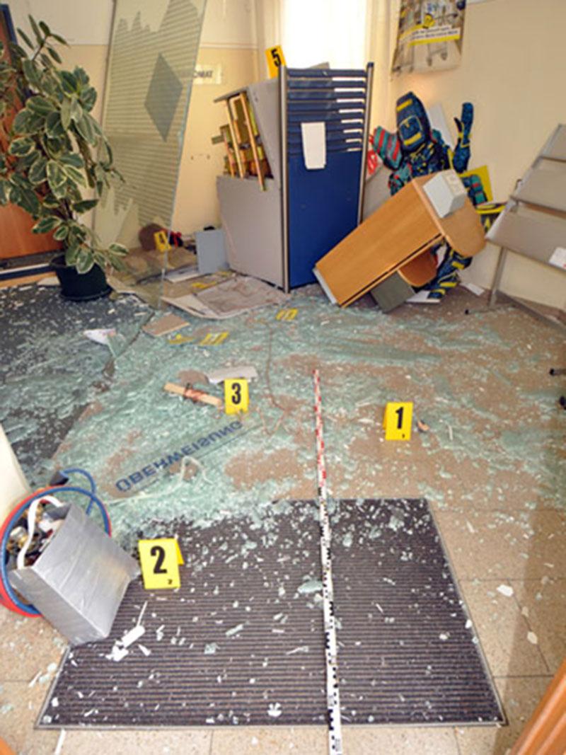 Bankomat Sprengung Zwingendorf Festnahme