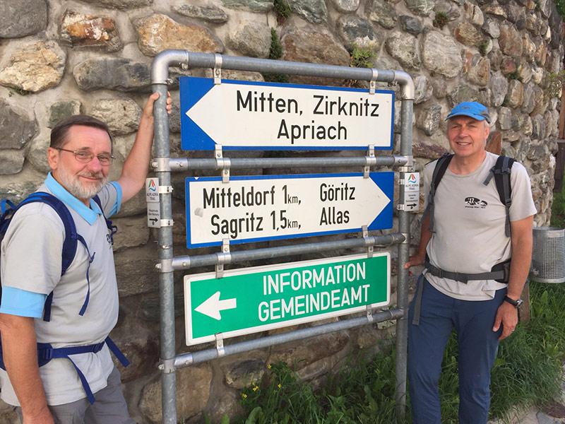 Naturschützer Alpen Wanderung