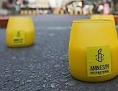 Kerzen für Menschenrechte von Amnesty International