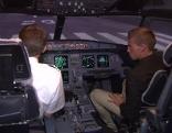 Flugzeug Cockpit Ausbildung