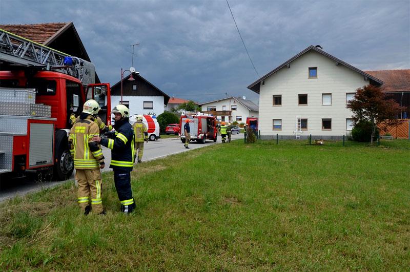 Vier Kinder bei Brand gerettet