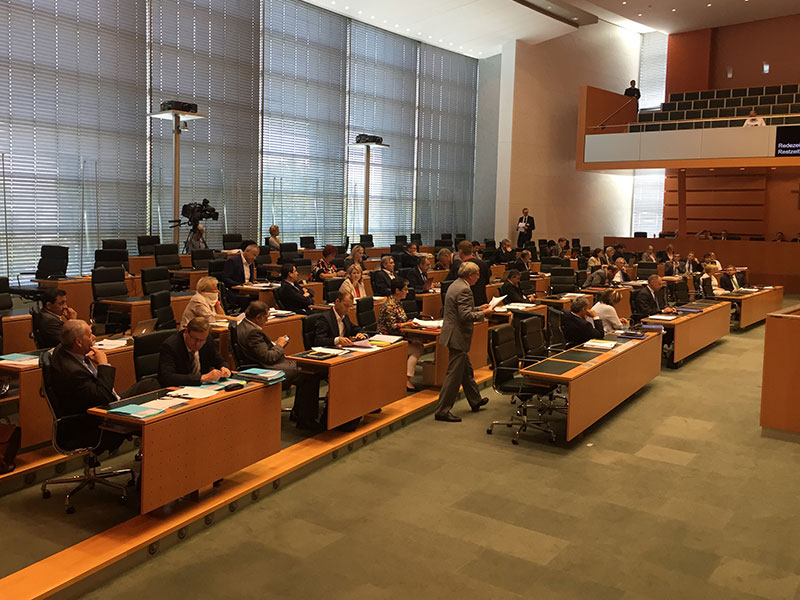 Landtag Demokratiepaket