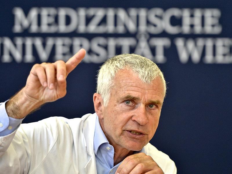 Walter Klepetko, Leiter der Klinischen Abteilung für Thoraxchirurgie der MedUni Wien