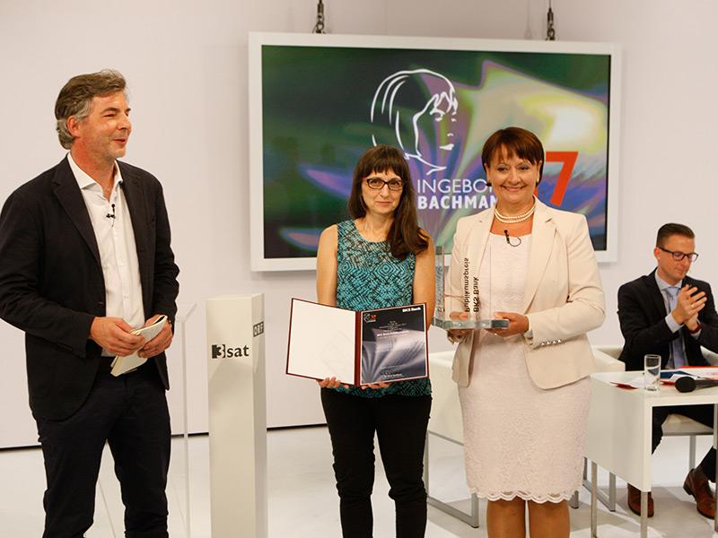 Preisverleihung 2017 Karin Peschka