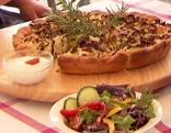 Zwiebel-Lauch-Kuchen