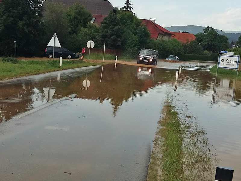Kärnten Unwetter