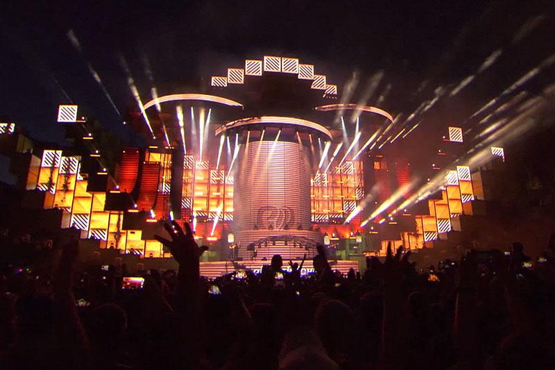 Bühne beim Electric Love Festival 2017