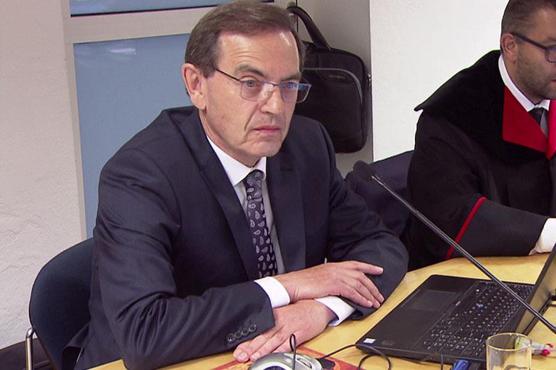 Gerichtsgutachter Christian Imo beim Swap Prozess