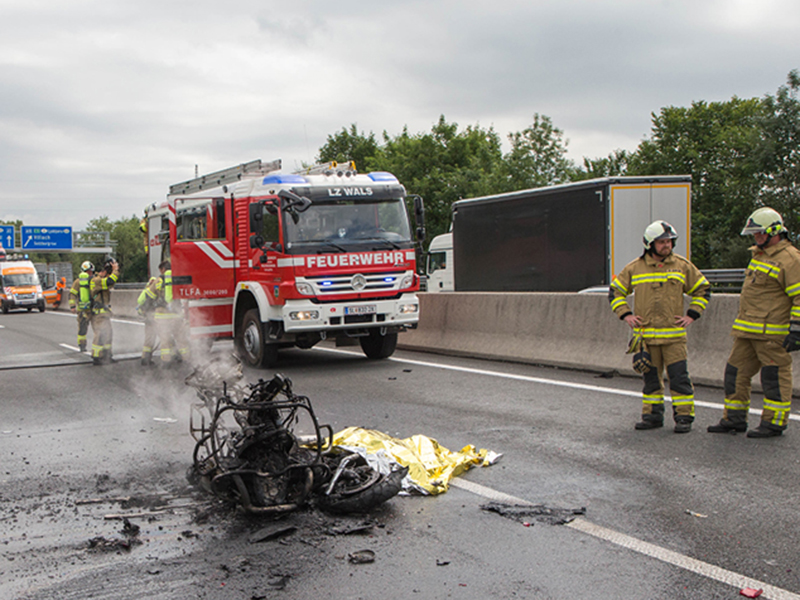 Motorradfahrer stirbt bei Verkehrsunfall