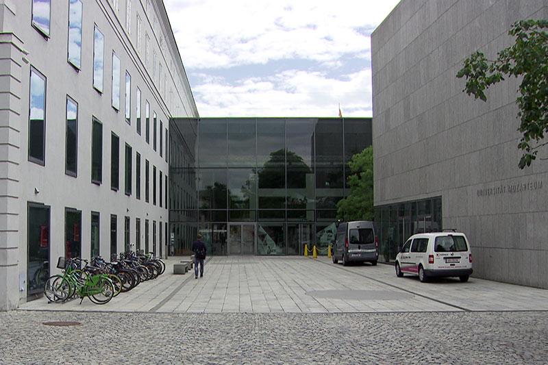 Universität Mozarteum in der Stadt Salzburg