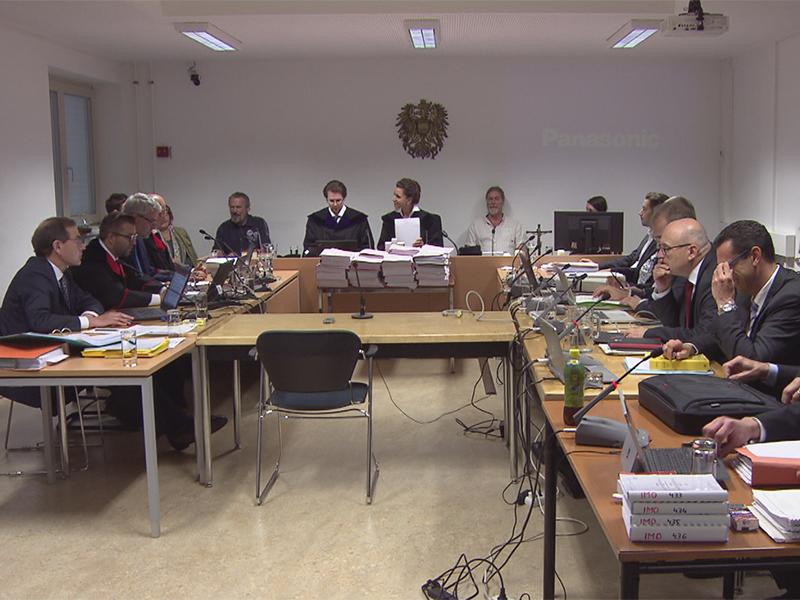 Swap-Prozess am Salzburger Landesgericht