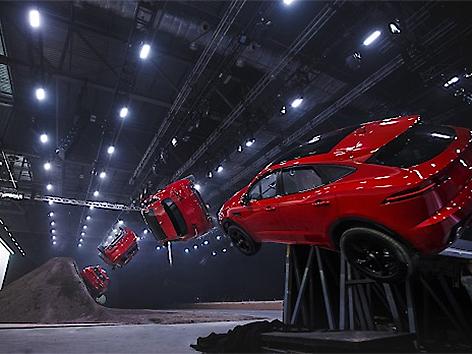 Der neue Jaguar E-Pace, der in Graz gefertigt wird