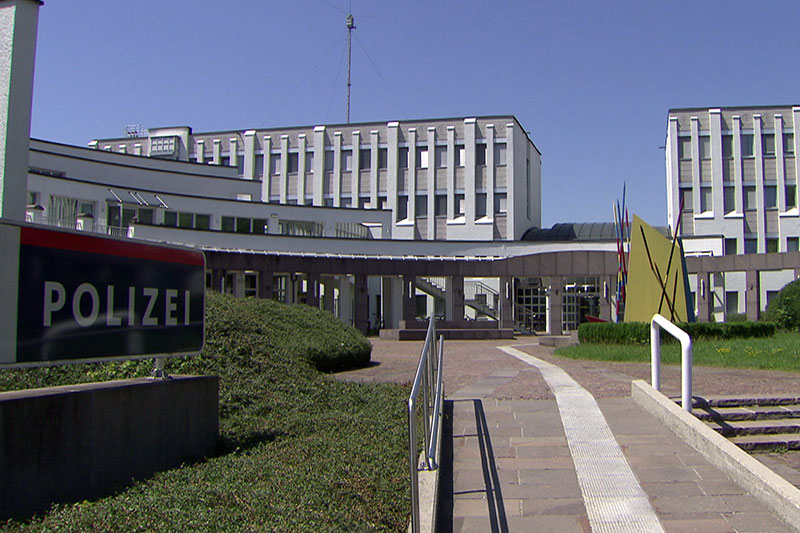 Die Bundespolizeidirektion Salzburg von außen