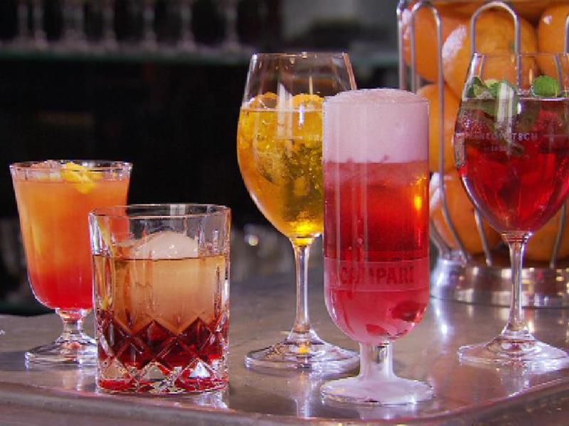 Bar Campari Frankowitsch, Kulinarium