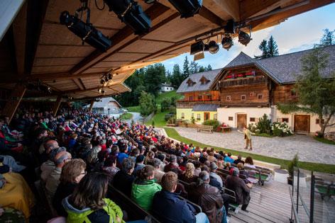 Heimatsommer Weiz, Huabn-Theater