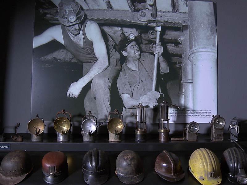 Kohlebergbau Bergbau Lavanttal  Kumpel Kohle