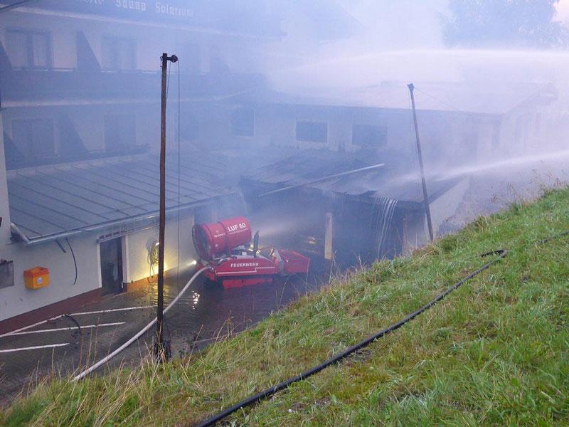 Großbrand Hotel Rauris