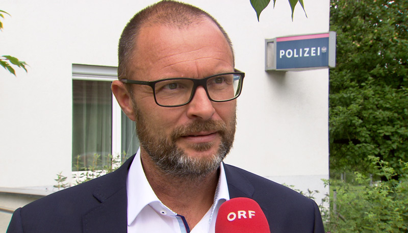 Landespolizeidirektor Andreas Pilsl