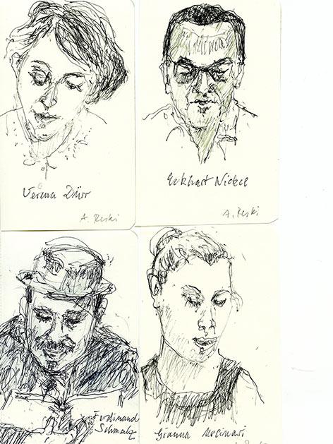 Annelore Reski 2017 Porträts
