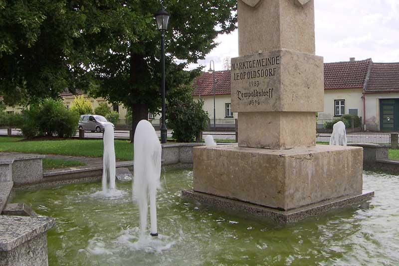 Trinkwasser Versorgung Leopoldsdorf