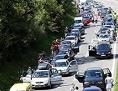 Promet zastoj Karavanke avtocesta