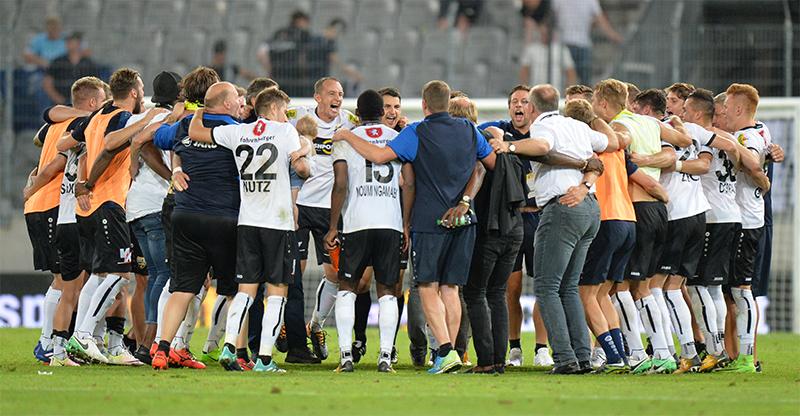 Altach gewinnt gegen Gent