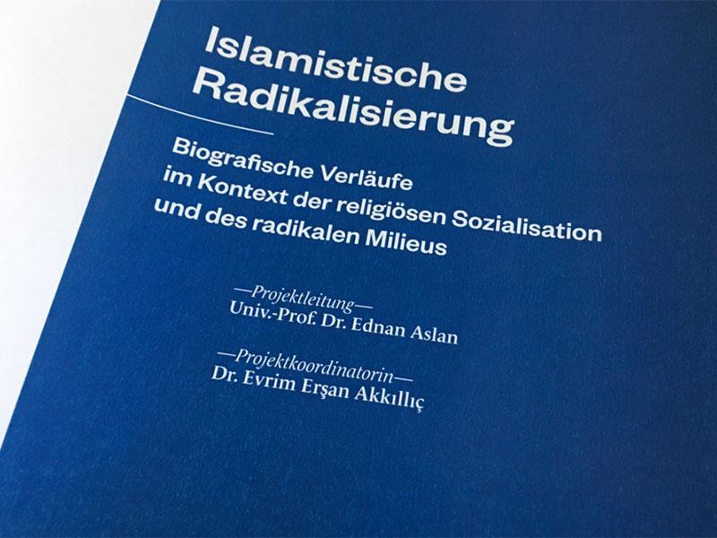 """Deckblatt zu Aslan-Studie """"Islamistische Radikalisierung"""""""