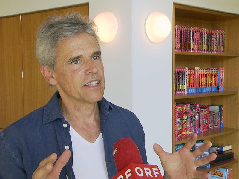 """Kinder- und Jugendbuchautor Thomas Brezina im """"Wien heute""""-Studiogespräch"""