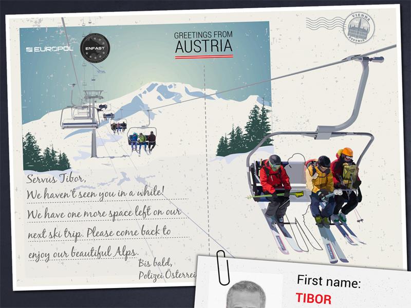 Europol Foco Postkarte