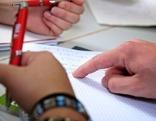 Schreibende Hände