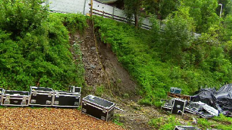Hangrutsch Konzertgelände Schürzenjäger Finkenberg