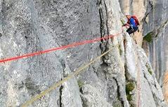 71-jährigen Kletterer aus Mittelfranken gerettet auf dem Grundübelhorn