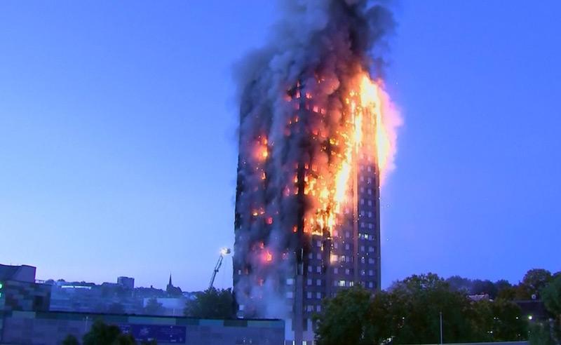Rettungssystem bei Hochhausbränden